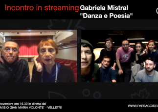 """CIA PE MELLADO DANZA   Incontro """"Gabriela Mistral. Danza e poesia"""""""