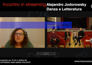 Incontro Alejandro Jodorowsky. Danza e Letteratura