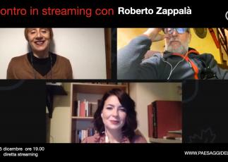 Incontro in streaming con ROBERTO ZAPPALA'