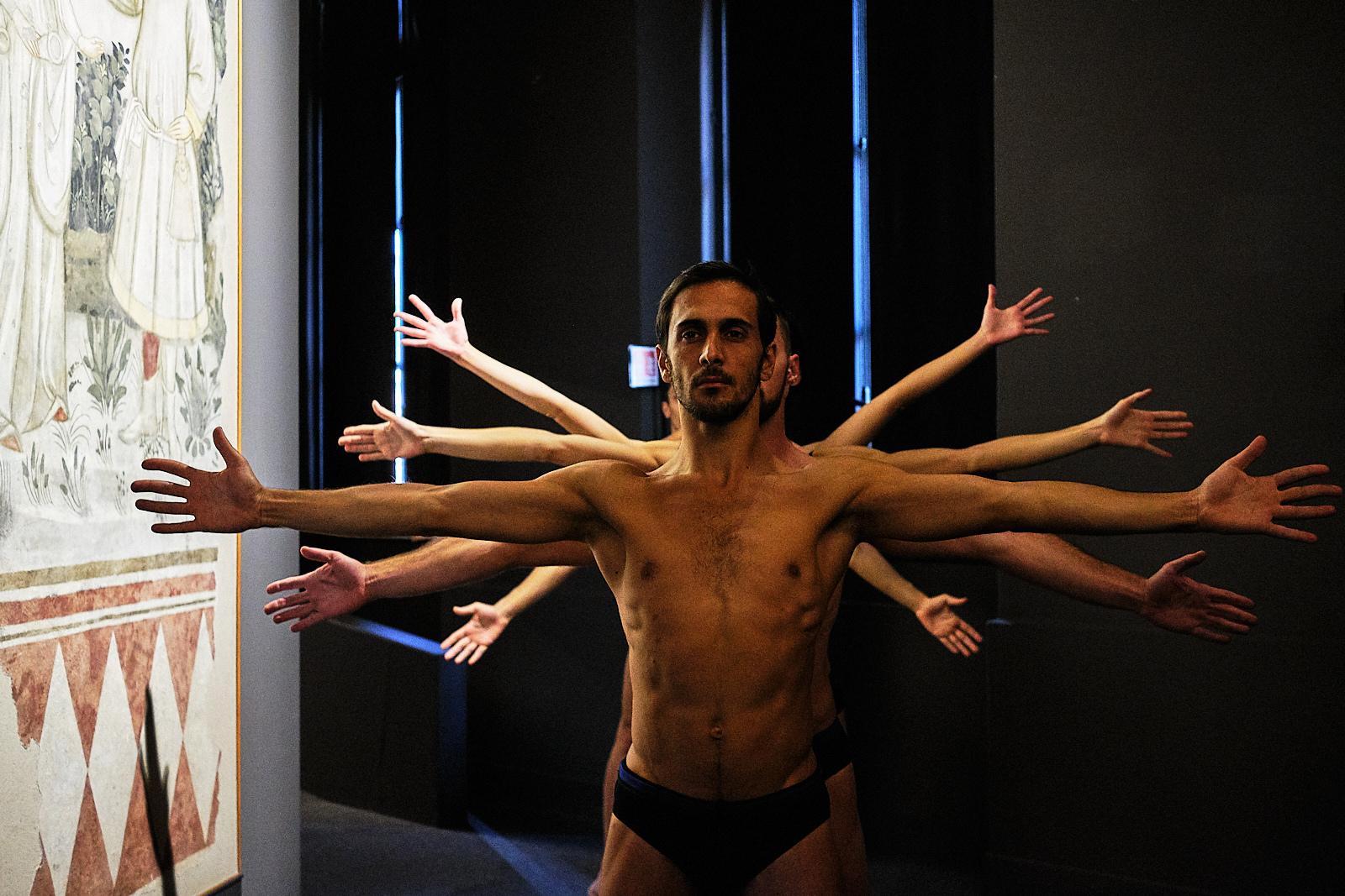 "EGRIBIANCODANZA""Leonardo Da Vinci: Anatomie Spirituali"""